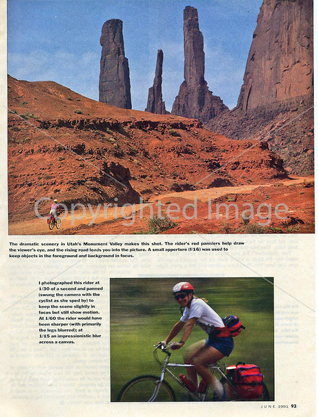 Bicycling Magazine - Photo Tips - Page 4