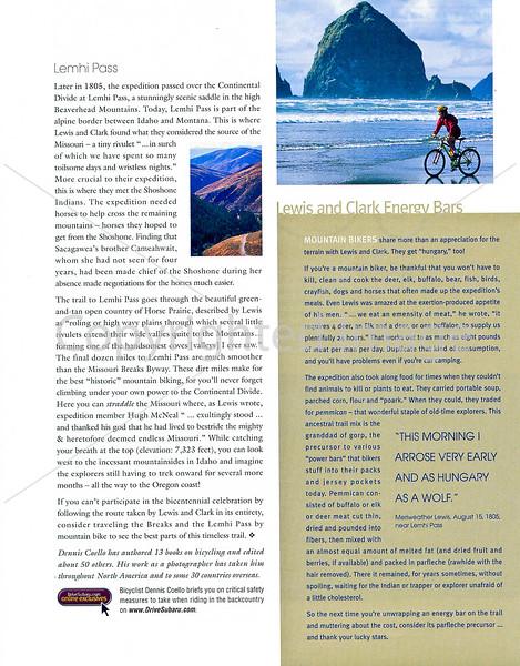 Subaru's Drive Magazine - Lewis & Clark - Page 4
