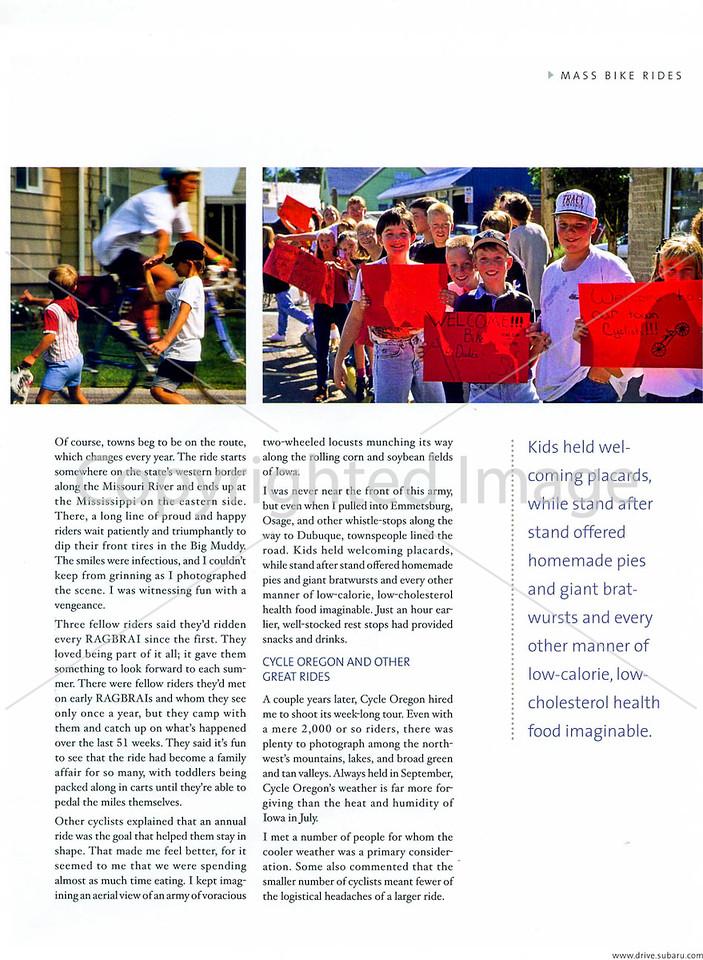 Subaru's Drive Magazine - Mass Bike Rides - Page 4