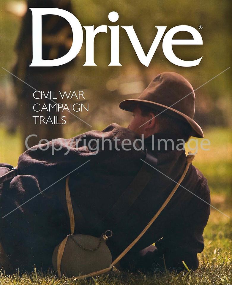 Subaru's Drive Magazine - Civil War Campaign Trails - Cover
