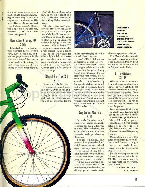 Outside Magazine - The Mountain Biker - Page 6