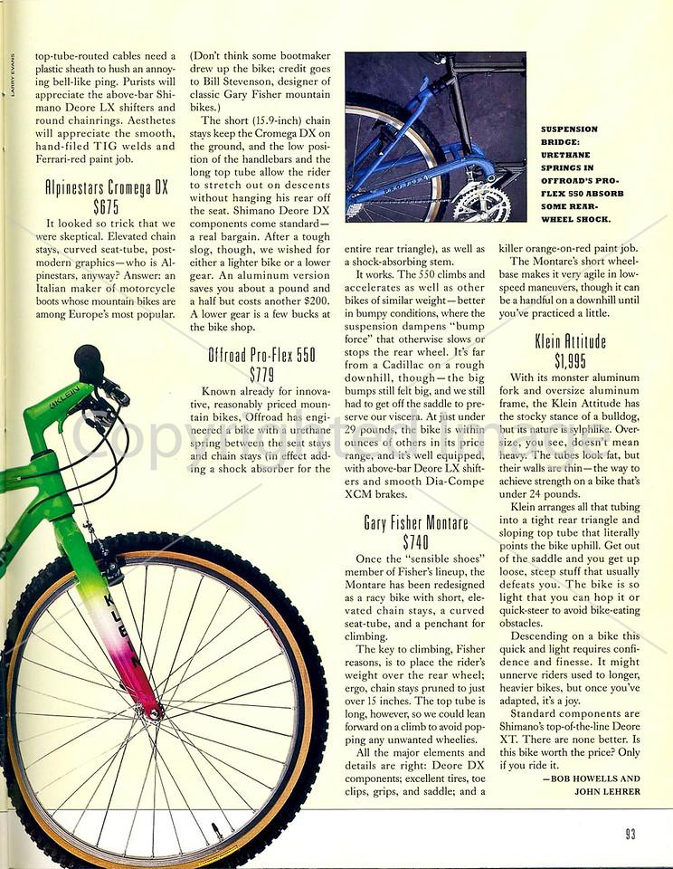 Outside Magazine - The Mountain Biker - Page 6
