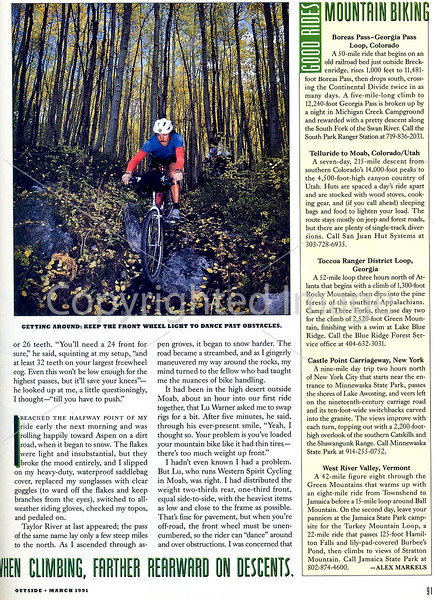 Outside Magazine - The Mountain Biker - Page 4