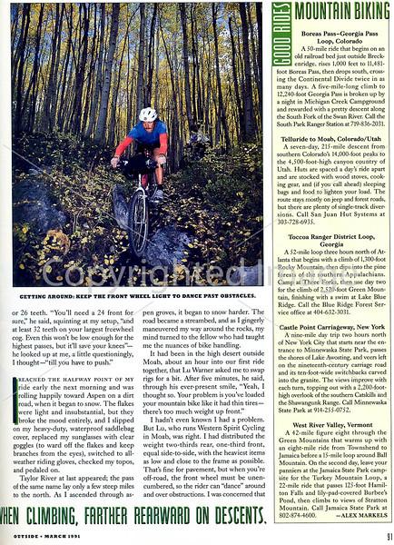 Outside Magazine - The Mountain Biker - Page 4