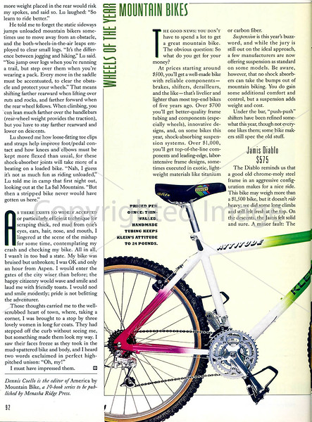 Outside Magazine - The Mountain Biker - Page 5