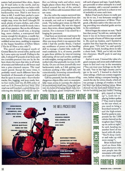 Outside Magazine - The Mountain Biker - Page 3