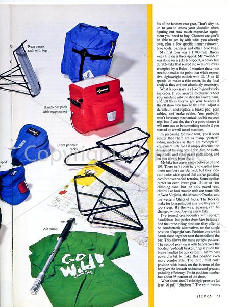 Sierra Magazine - Bike Touring - Page 4