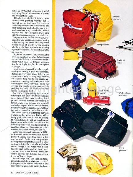 Sierra Magazine - Bike Touring - Page 3