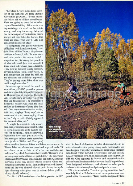 Sierra Magazine - Vicious Cycles - Page 4