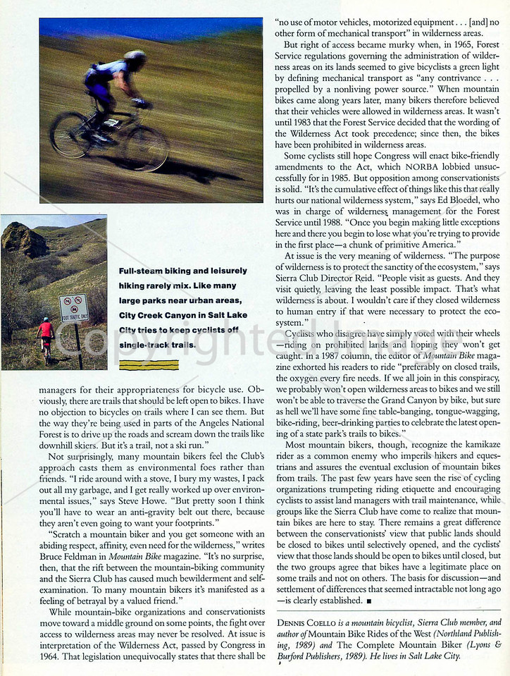 Sierra Magazine - Vicious Cycles - Page 5