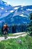 Cyclist in Mount Rainier Nat'l Park, Washington - 4-2 - 72 ppi