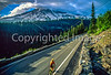 Cyclist in Mount Rainier Nat'l Park, Washington - 8-2 - 72 ppi