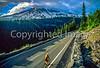 Cyclist in Mount Rainier Nat'l Park, Washington - 8-2 - 72 ppi