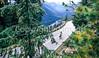 Cyclist in Mount Rainier Nat'l Park, Washington - 14-2 - 72 ppi
