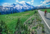 Cyclist in Mount Rainier Nat'l Park, Washington - 28-2 - 72 ppi
