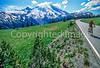 Cyclist in Mount Rainier Nat'l Park, Washington - 28-2 - 72 ppi