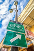 Bike sign in New Orleans' French Quarter -0021 - 72 ppi