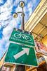 Bike sign in New Orleans' French Quarter -0021 - 72 ppi
