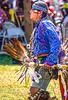 Ojibwe dancer at Grand Portage Nat'l Monument in Minnesota - 7-2 - 72 ppi