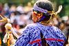 Ojibwe dancer at Grand Portage Nat'l Monument in Minnesota - 2 - 72 ppi