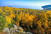 Lake Superior viewed from US 61 near Grand Portage Nat'l Monument - 2 - 72 ppi