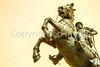 Texas - The Last Conquistador statue at El Paso Internat'l Airport - C3-0098 - 72 ppi
