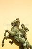 Texas - The Last Conquistador statue at El Paso Internat'l Airport - C3-0105 - 72 ppi