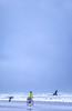 Lewis & Clark - Cyclist at Cannon Beach on Oregon coast - 6-Edit-Edit - 72 ppi