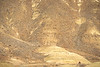 Winter bike tourer on dirt road in Oregon's John Day Fossil Beds Nat'l Monument - 72 ppi 8