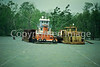 Tugboats in coming storm on Mississippi River near St  Francisville, Louisiana - 1 - 72 ppi