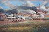 Vicksburg, MS, flood wall mural - Civil Wqr battle - 72 ppi