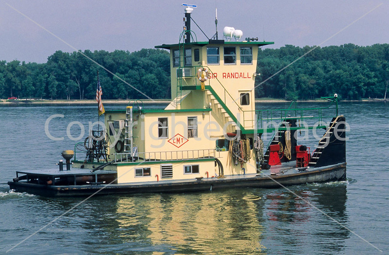 Towboat on the Mississippi near Hannibal, Missouri - 3 - 72 ppi-2