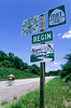Cyclist along Mississippi River on Missouri's Hwy 79 - 1 - 72 ppi