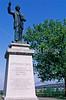 Jefferson Davis statue on Memphis, Tennessee, waterfront - 1 - 72 ppi