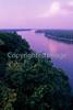 Mississippi River at dawn - Hannibal, Missouri - 5 - 72 ppi