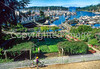 Cyclist in San Juan Islands near Seattle, at Roche Harbor - 1 - 72 ppi