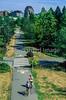 Bikers on Burke-Gilman Trail in Seattle, WA - 3-2 - 72 ppi