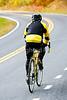 Cyclist on Skyline Drive in Shenandoah National Park, Virginia-2170 - 72 dpi