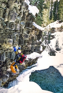 Ice climber near Big Sky, Montana - 3 - 72 ppi