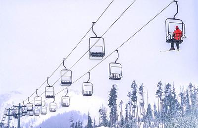 Skier(s) at Big Sky, Montana - 14 - 72 ppi