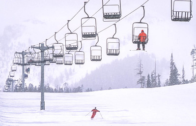 Skier(s) at Big Sky, Montana - 9 - 72 ppi