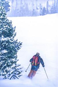 Skier(s) at Big Sky, Montana - 13 - 72 ppi