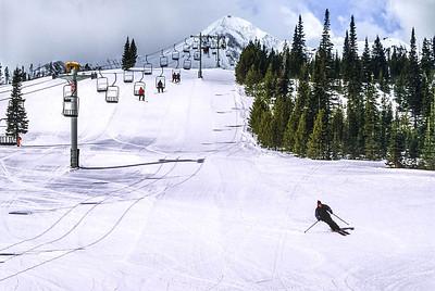Skier(s) at Big Sky, Montana - 12 - 72 ppi