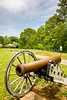 Thin-tire cyclist at Fort Pillow State Historic Area in Tennessee-0098 - 72 ppi