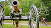 Thin-tire cyclist at Fort Pillow State Historic Area in Tennessee - C1--0036 - 72 ppi-4