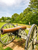 Thin-tire cyclist at Fort Pillow State Historic Area in Tennessee-0095 - 72 ppi