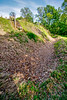 1864 Fort & battleground at Fort Pillow State Historic Area in Tennessee - 300 dpi - C2 -  -0235