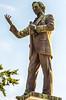 Jeff Davis statue in Confederate Park, Memphis, TN; riverfront - C2-0066 - 72 ppi