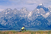 ACA bike tourers in Tetons Nat'l Park, Wyoming - 23 - 72 ppi