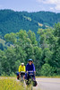 ACA bike tourers in Tetons Nat'l Park, Wyoming - 13 - 72 ppi